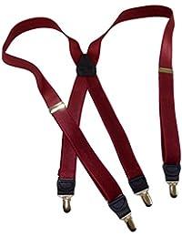 Hold-Up Suspender Co. ACCESSORY メンズ US サイズ: One Size カラー: レッド
