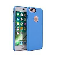 【HANATORA】 iPhone 8 Plus/iPhone 7 Plus 対応 Typical ハードケース 2種類の選べる保護フィルム付属 スカイブルー HS2-7Plus-Blue