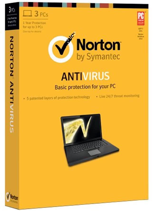 始まり試用細分化するNorton Antivirus 2013 [Latest Version] - 1 User / 3 PC  (English Version) (英語版)