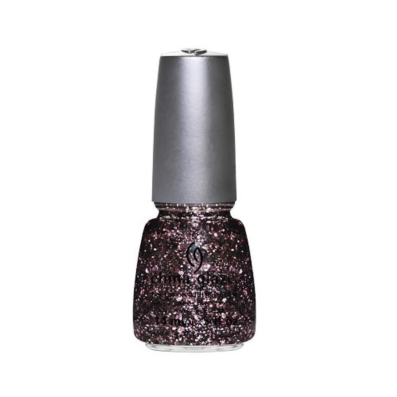 大理石アルコール悪性腫瘍(3 Pack) CHINA GLAZE Nail Lacquer - Glitz Bitz ?n Pieces Collection - Razzle Me Dazzle Me (並行輸入品)