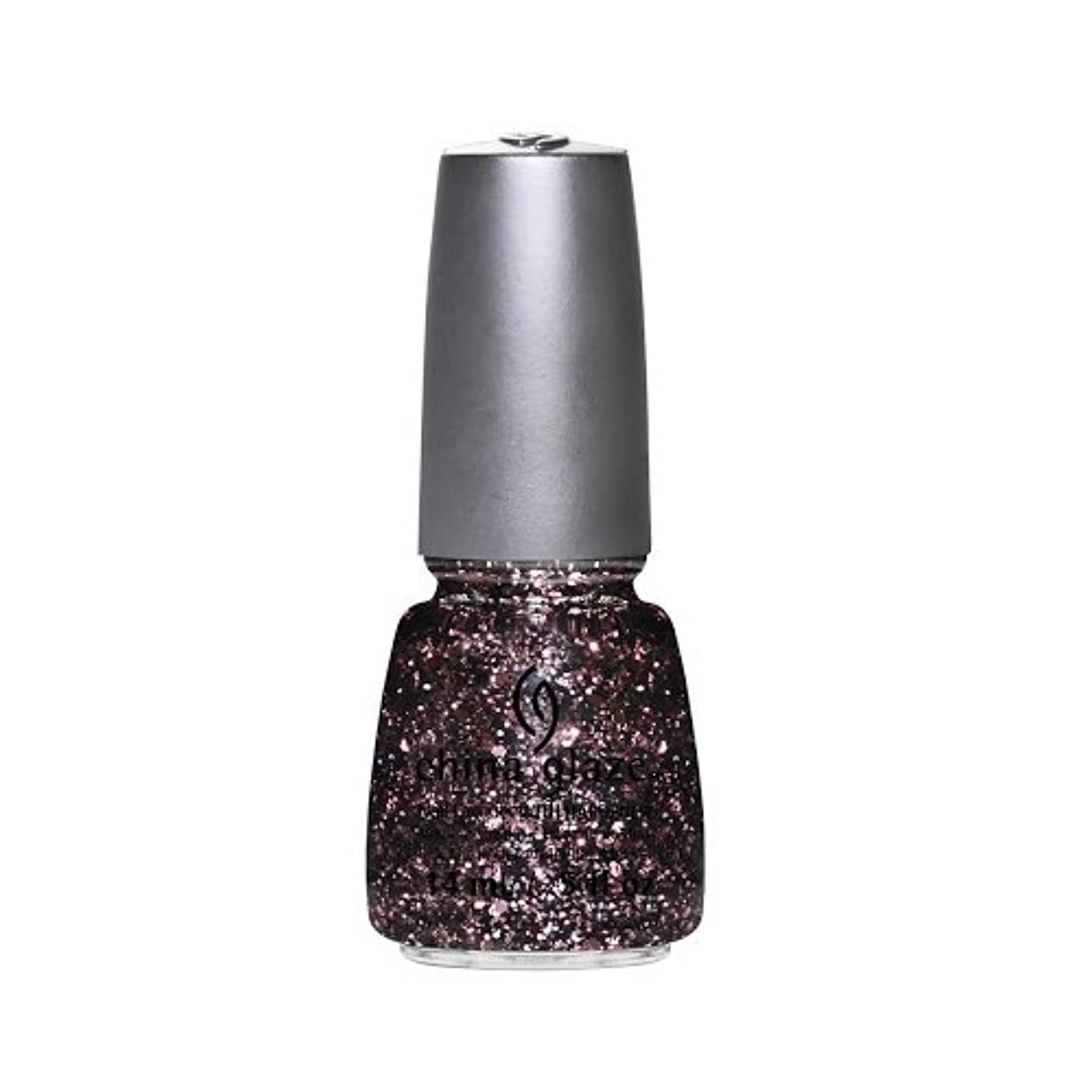 ギャザー解釈的(3 Pack) CHINA GLAZE Nail Lacquer - Glitz Bitz ?n Pieces Collection - Razzle Me Dazzle Me (並行輸入品)