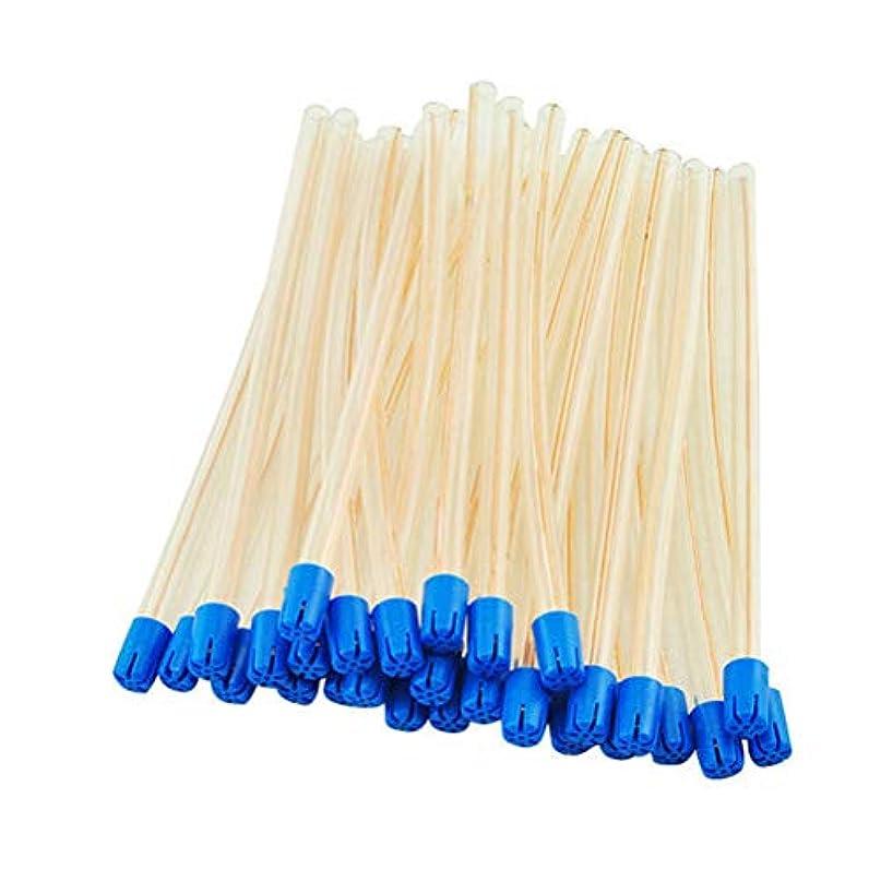 住所好色な同行するHEALLILY 100個使い捨て歯科用サクション歯科用サクションチューブ唾液エジェクター