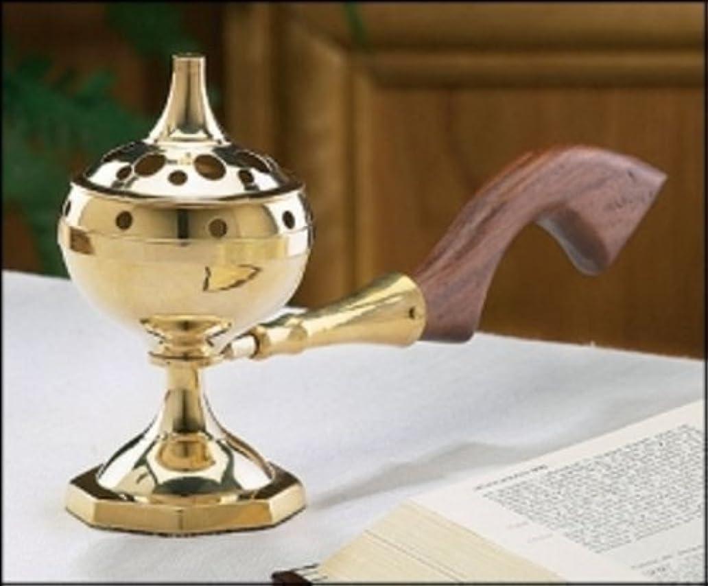 粉砕する生命体ホーンLong Handled Incense Burner by Faithfulギフト