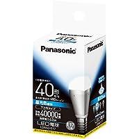 パナソニック LED電球 EVERLEDS 電球40W形相当 密閉型器具対応 E17口金 昼光色相当(6.0W) 小形電球・下方向タイプ LDA6DE17