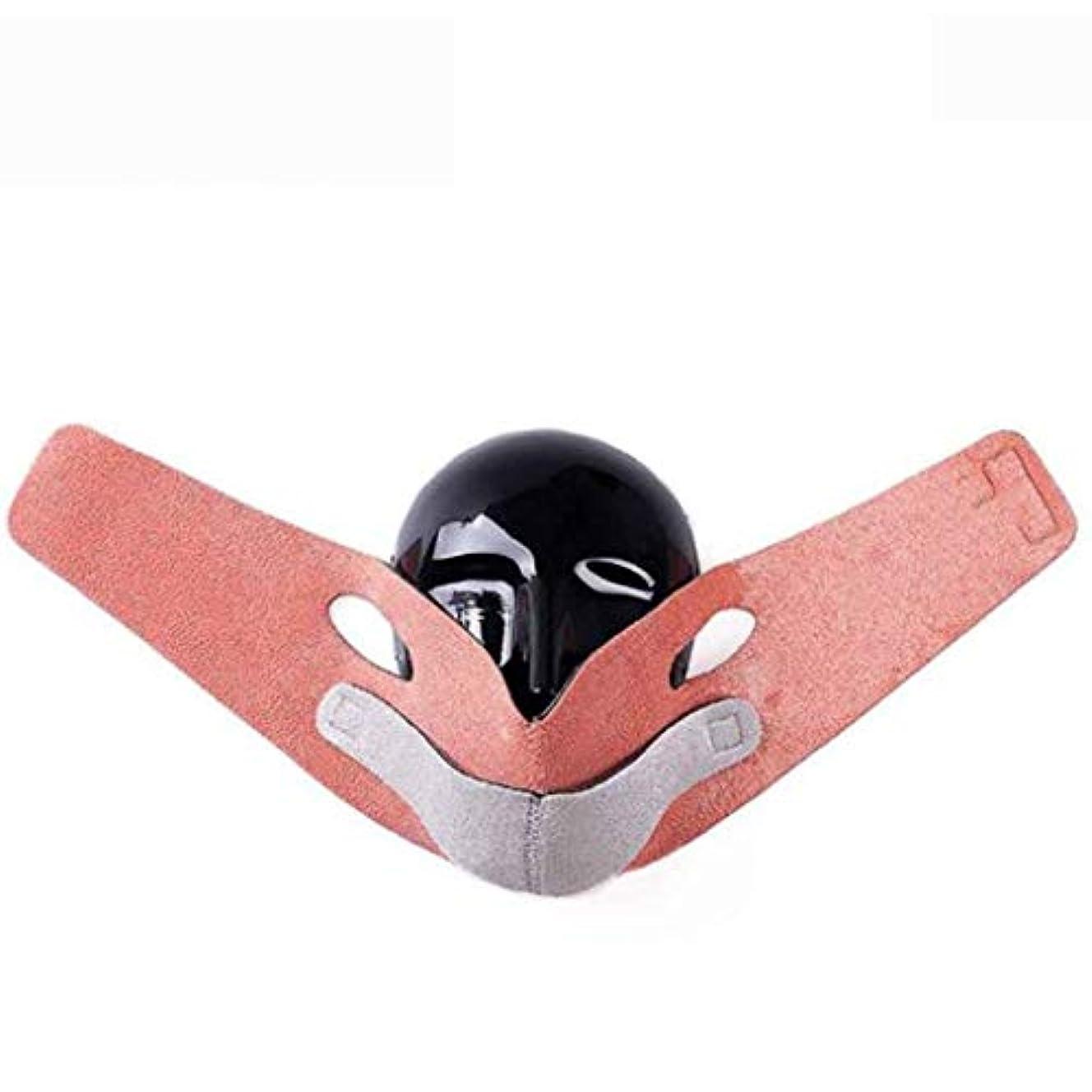 順応性乱用パットVフェイスマスク - リフティングフェイスロスダブルチン - スモールフェイス包帯矯正フェイスタイプ