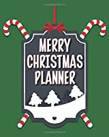 Merry Christmas Planner: Creating Memories To Last a Lifetime | Keepsake Organizer | Large Size | Candy Cane Green Cover