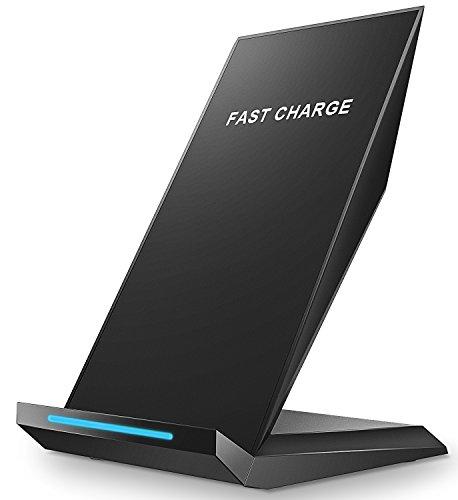 QI急速ワイヤレス充電器 Pasonomi 急速充電対応 iPhone X/8/8plus Samsung Galaxy S8 S8+ S7 Edgeなど対応