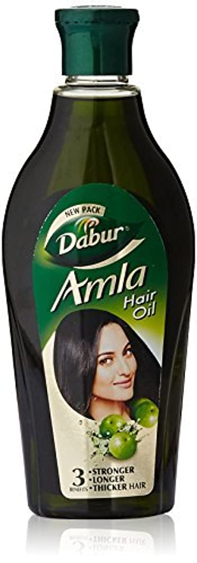 エレガントあからさま壊滅的なDabur Amla Hair Oil 275ml [並行輸入品]