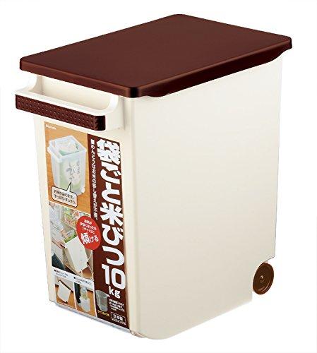 イノマタ化学 米びつ 袋ごと米びつ 計量カップ付き 10Kg...