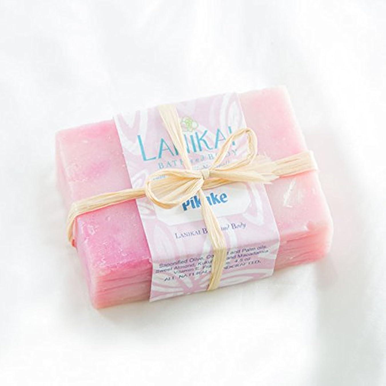 つま先フリル年LANIKAI Handmade Hawaiian Soap Pikake ハンドメイド ハワイアンソープ ピカケ