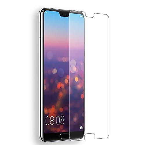 BEGALO HUAWEI P20 Pro 用 ガラスフィルム HW-01K フィルム HW01K 強化ガラス 2.5D 指紋防止 高透過率 高硬度9H 気泡ゼロ 0.33mm (Huawei P20 Pro 1枚セット)