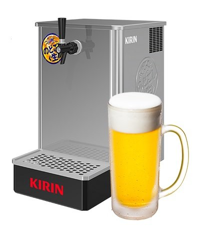 KIRINのどごし<生> うまい<生>サーバー