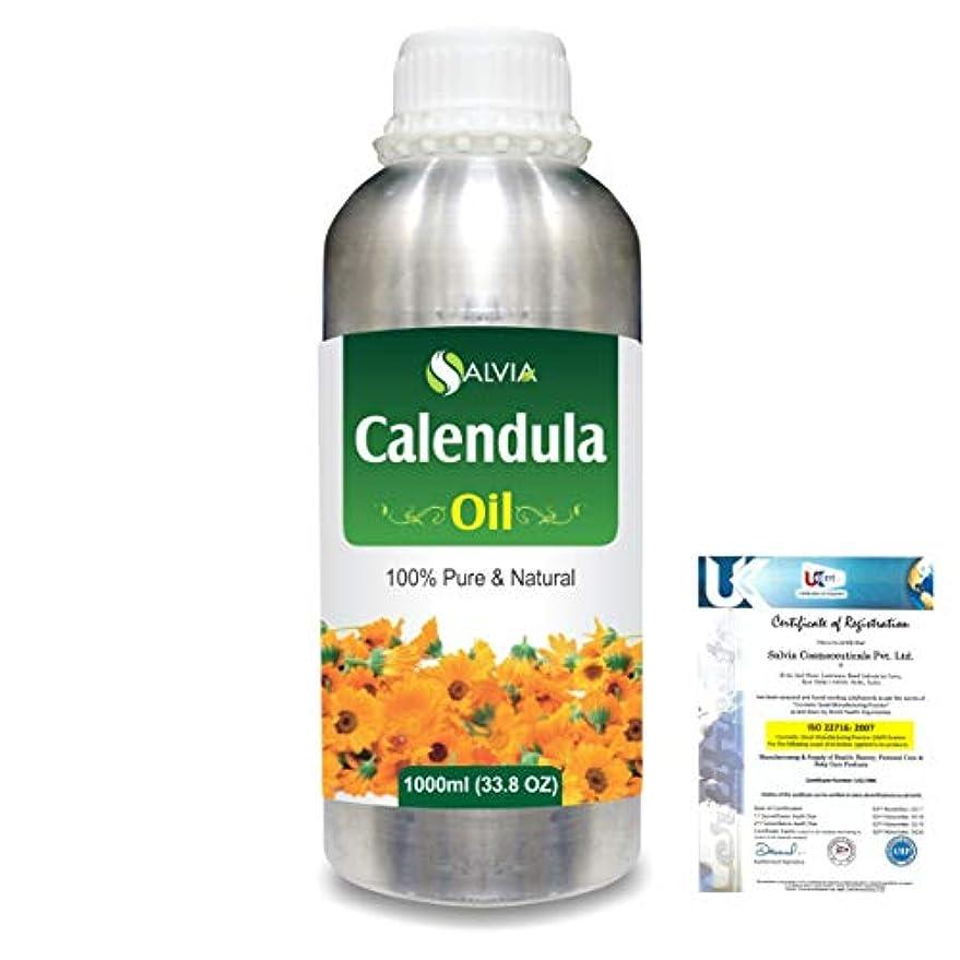 Calendula (Calendula officinalis) 100% Natural Pure Essential Oil 1000ml/33.8fl.oz.