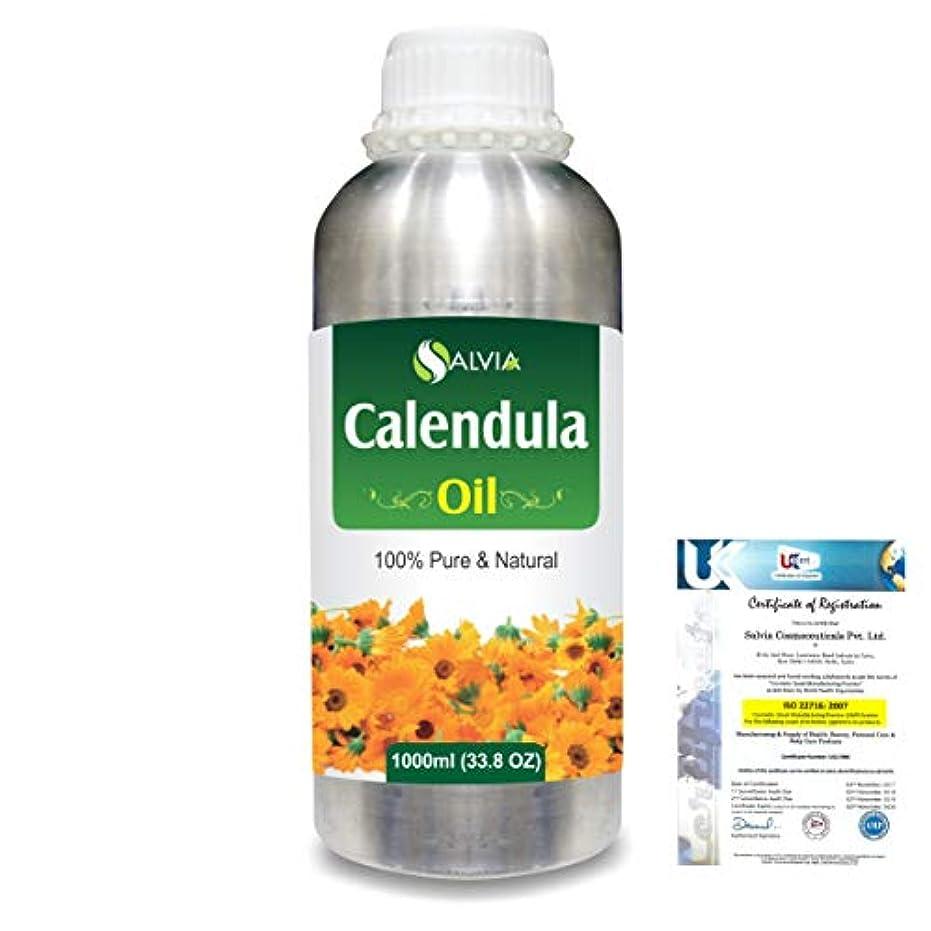 ハイライトキネマティクスまとめるCalendula (Calendula officinalis) 100% Natural Pure Essential Oil 1000ml/33.8fl.oz.