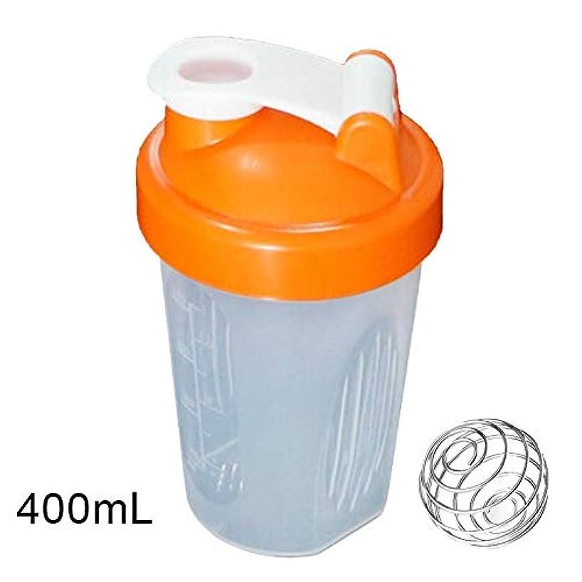 画面二次スロットTuonar 400 / 600ml蛋白質の粉の混合のコップは感動的な球が付いている漏出防止の振動ボトルを密封しました