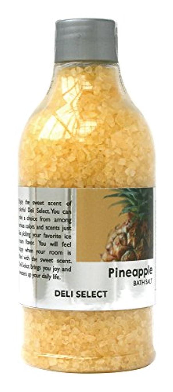 半ばピクニックをする暴君デリセレクト バスソルト パイナップル 350g(塩タイプ入浴料)