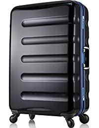 (レジェンドウォーカー) LEGEND WALKER 超軽量 スーツケース カラーフレーム 【一年安心保証】 静音キャスター TSAロック搭載 (機内持込から4サイズ) おしゃれでかっこいい キャリーバック キャリーレーザーIDオプション…