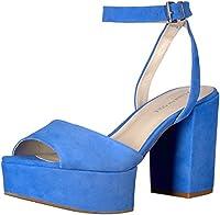 [Kenneth Cole New York] Women's Pheonix Platform Dress Sandal, Cerulean, Size 6.0