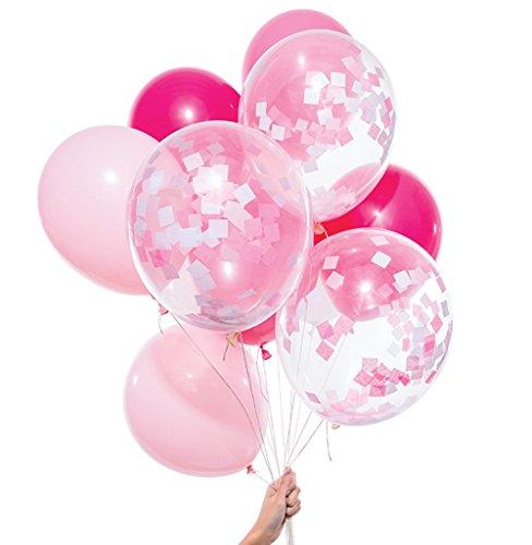 スパイス(SPICE) ピンク ミックス パーティー バルーンズ Pink Mix Party Balloons PB12-PM