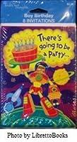 Tender Thoughts Boy Birthday Invitations (8 count) [並行輸入品]
