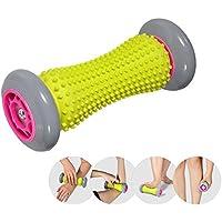 足 マッサージローラー フット ヒールローラー 足裏マッサージ 血行促進 足底筋膜炎&筋肉痛の緩和 ストレス解消 多機能 健康器具