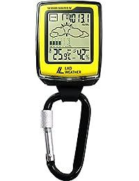 [LAD WEATHER]アウトドア用品 高度 気圧 温度 天気 コンパス カラビナ スポーツ時計 lad036
