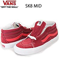 VANS(バンズ) バンズ スニーカー スケートミッド VANS SK8-MID RETRO SPORT BIKING RED -POINSETTIA スケートシューズ メンズスニーカー 【C1】 8.5(26.5cm)