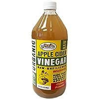 SPROUTS, オーガニック アップル サイダー(Apple Cider Vinegar) 946 ml (1個) [並行輸入品]