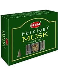 HEM(ヘム) プレシャスムスク香 コーンタイプ PRECIOUS MUSK CORN 12箱セット