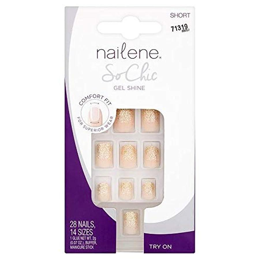 識字不確実試みる[Nailene] Nailene釘ので、シックなゲル輝き - Nailene Nails So Chic Gel Shine [並行輸入品]