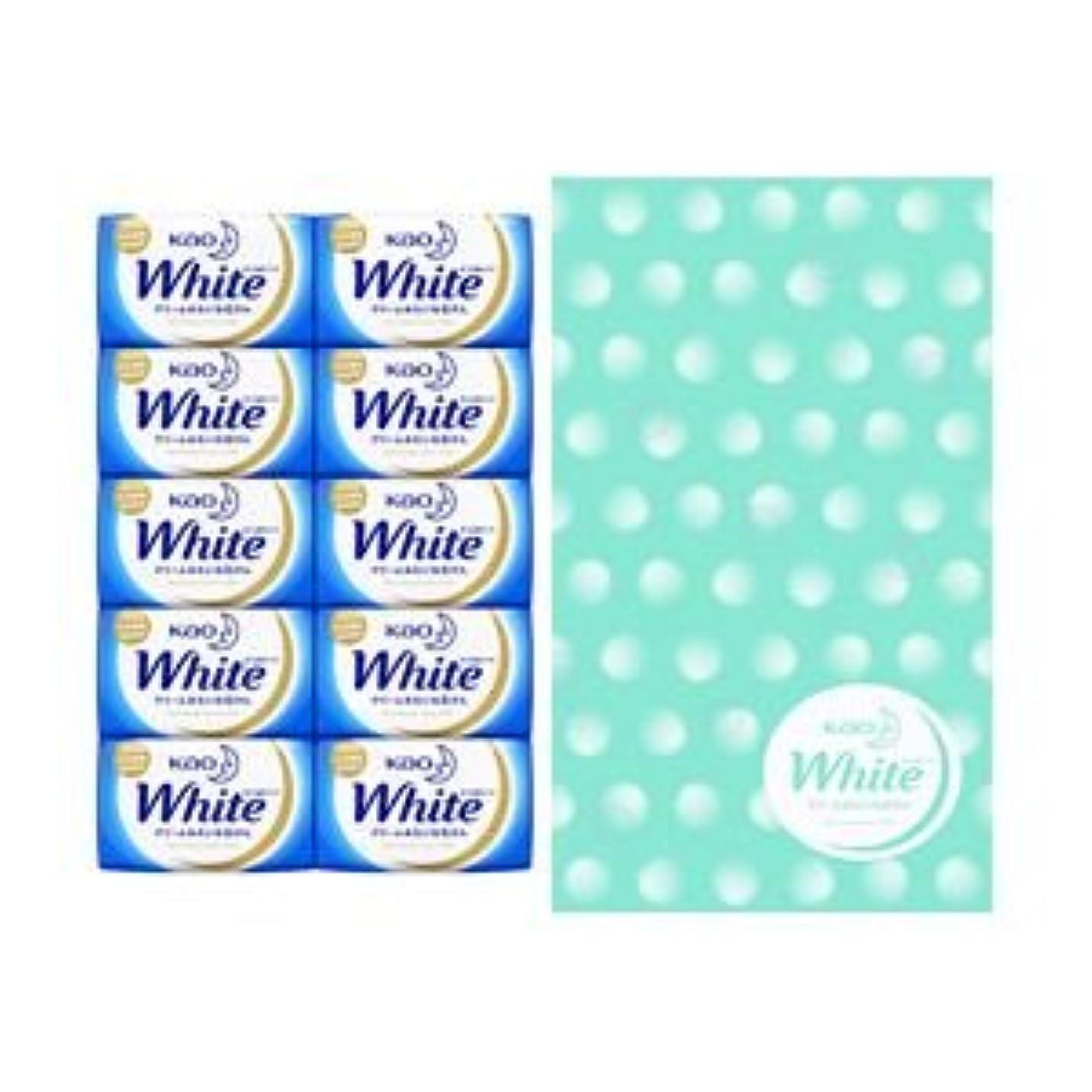 あご留め金製品花王 (業務用セット) ホワイト 10個入 (×3セット)
