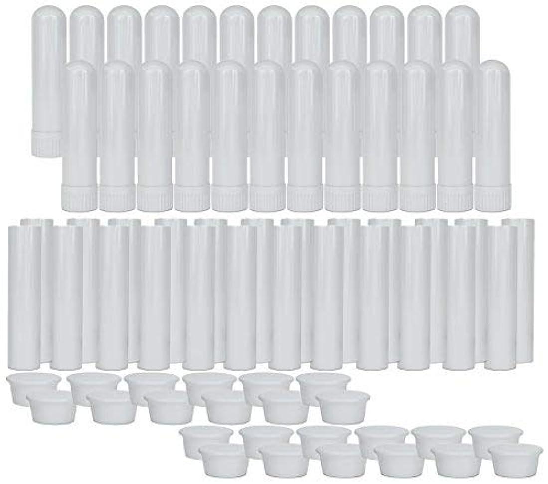 アーネストシャクルトン解決する学部長Essential Oil Aromatherapy Blank Nasal Inhaler Tubes (24 Complete Sticks), Empty Nasal Inhalers for Essential...