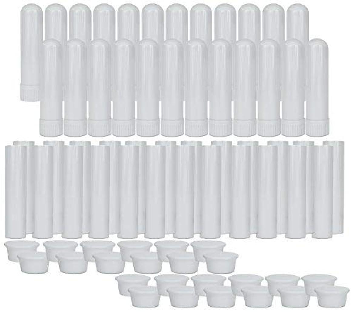 家具テレビアコーEssential Oil Aromatherapy Blank Nasal Inhaler Tubes (24 Complete Sticks), Empty Nasal Inhalers for Essential...
