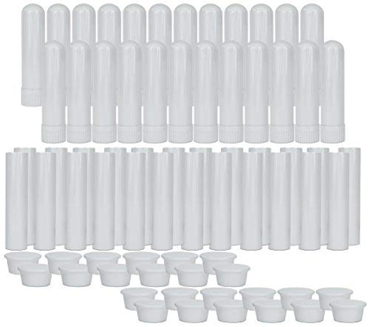 農業彼女写真のEssential Oil Aromatherapy Blank Nasal Inhaler Tubes (24 Complete Sticks), Empty Nasal Inhalers for Essential...