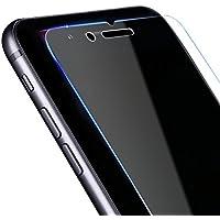 Nobelbird iPhone8 iPhone7 用 強化ガラス液晶保護フィルム【落としても割れない 硬度9H】【ワンタッチ貼付け/気泡ゼロ/ケースと干渉せず】3D Touch対応/飛散防止/指紋防止/ 2.5D アイフォン8/アイフォン7 ガラスフィルム 超薄0.33mm