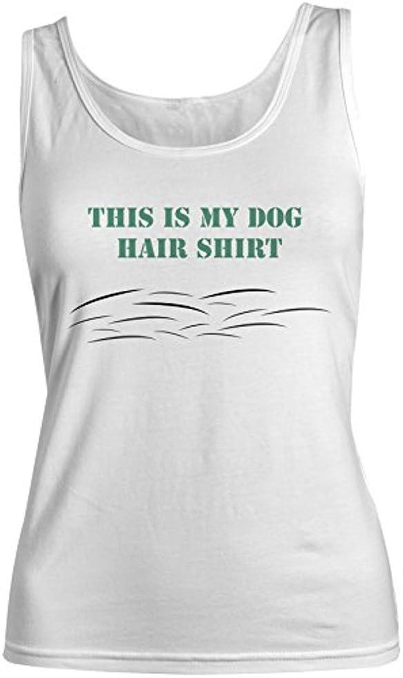 垂直センブランス符号This Is My 犬 Hair Shirt おかしいです 犬z Pet Lover レディース Tank Top Sleeveless Shirt