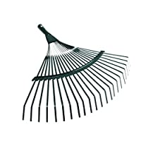 Yardwe 葉熊手低木熊手庭の葉雑草落葉性草用の道具をきれいにする(緑)