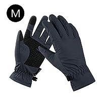 アウトドアスポーツ用手袋、フルフィンガーグローブ、暖かいフィットネス用手袋、伸縮性、通気性、防風性、防寒性、耐衝撃性、滑り止めを備えたサイクリングハイキングランニング用の手袋など