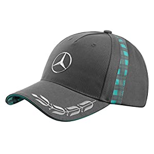 【Mercedes-Benz Collection】 メンズ ローレルリースキャップ グレー