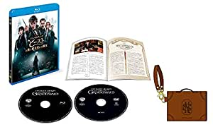 【Amazon.co.jp限定】ファンタスティック・ビーストと黒い魔法使いの誕生 ブルーレイ&DVDセット (2枚組/日本限定メイキングブックレット付) (オリジナルトランクパスケース付) [Blu-ray]
