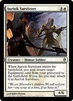 英語版 新たなるファイレクシア New Phyrexia NPH オーリオックの生き残り Auriok Survivors マジック・ザ・ギャザリング mtg
