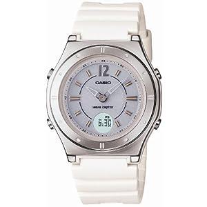 CASIO 腕時計 WAVE CEPTOR ウェーブセプター タフソーラー 電波時計 MULTIBAND 5 LWA-M140-7AJF レディース