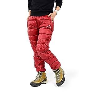 ダウンパンツ CanadianEast アウトドア レディース 登山 ファッション カナディアンイースト CEW3512PA-RED-XS