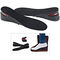 PIXNOR Women's Layer Air Up Height Increase Elevator Shoes Insole Heels Inserts