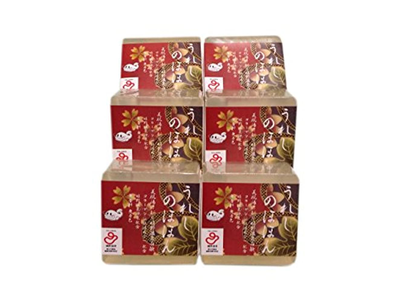 教科書バルク麺嬉野温泉(spa-ureshino) うれしのほほん 石鹸セット 6個セット