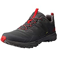 The North Face Men's Ultra Fastpack Iii GTX Trekking & Hiking Shoes, Blkened Pearl/TNF Red
