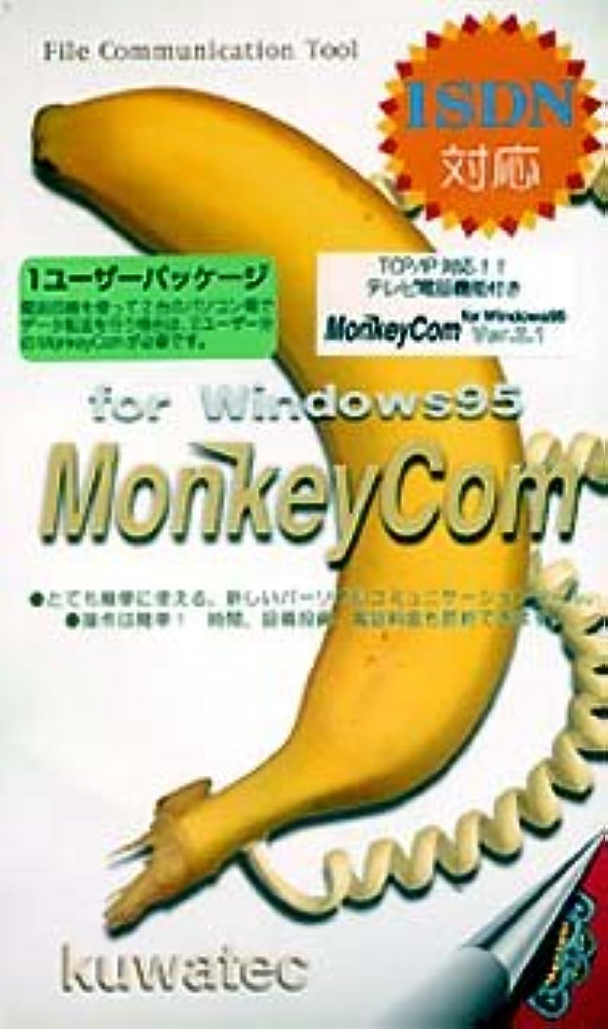 協力ペグ近代化するMonkeyCom Ver.2.1 for Windows 1ユーザーパッケージ