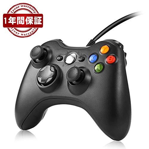 ゲームパッド コントローラー RegeMoudal コントローラー ゲームパッド usb pc Xbox 360 PC ゲームパッド有線 pc コントローラー ゲームコントローラusb Windows PC (Windows 10/8.1/8/7) 二重振動 人体工学 多システム対応 連射 振動