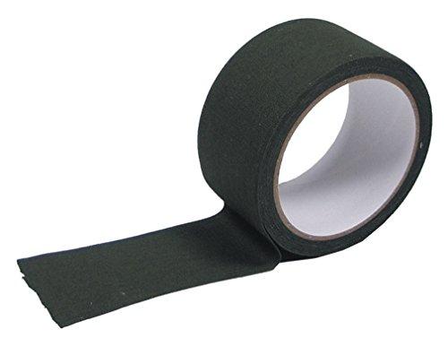 MFH 綿ファブリックテープ Fabric Tape 100%コットン 5cm x 10m - オリーブドラブ