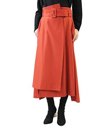 [해외]라시아 (RACEA) 양면 기모 불규칙 헴 스커트/Russia (RACEA) duplex raised irregular hem skirt